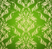 Decorative seamless floral ornament Royalty Free Stock Image
