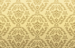 Decorative seamless floral ornament Royalty Free Stock Photography