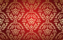Decorative seamless floral ornament Royalty Free Stock Photo