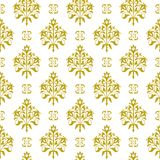 Seamless floral vector pattern Stock Photo