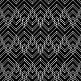 Decorative Seamless Geometric Vector Pattern Background.  royalty free illustration
