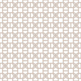 Decorative Seamless Geometric Vector Pattern Background vector illustration