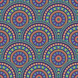 Decorative seamless pattern. Stock Photography
