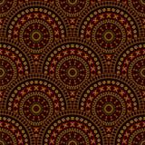 Decorative seamless pattern. Royalty Free Stock Image