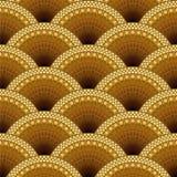 Decorative seamless pattern. Stock Image