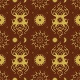 Decorative Seamless Pattern Royalty Free Stock Photo