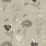 Decorative seamless pattern. Universal template for greeting card, web page, background Stock Image