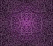 Decorative seamless pattern. Retro background. Vector illustration Stock Photography