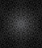 Decorative seamless pattern. Retro background. Vector illustration Royalty Free Stock Images
