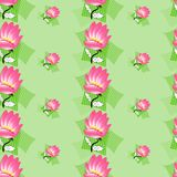 Decorative seamless pattern Stock Photo