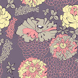 Decorative seamless pattern Stock Images