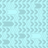 Decorative seamless pattern abstract arrows design Stock Photography