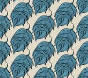 Decorative seamless pattern Stock Photo