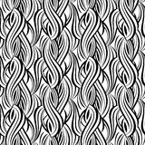 Decorative seamless pattern Stock Photography