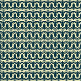 Decorative seamless pattern. Art Nouveau seamless tile for design Stock Photography