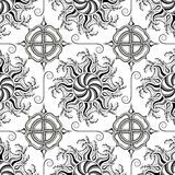 Decorative seamless pattern. Royalty Free Stock Photography