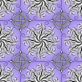 Decorative seamless pattern. Stock Photography