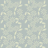Decorative seamless pattern with chamomile flowers and leaves Stock Image