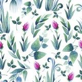 Decorative seamless pattern Stock Photography