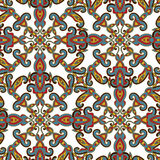 Decorative seamless pattern. EPS-8. Stock Image
