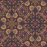 Decorative seamless pattern. EPS-8. Royalty Free Stock Photos