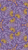 Decorative seamless pattern. EPS-8. Royalty Free Stock Images