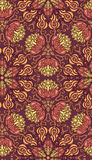 Decorative seamless pattern. EPS-8. Royalty Free Stock Image