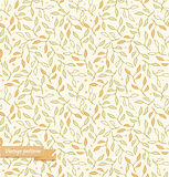 Decorative seamless pattern, floral background Stock Images