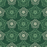 Decorative seamless pattern with floral beauty vintage ornament for design Stock Photos