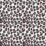 Decorative seamless pattern. Imitation leopard skins. Decorative seamless background for design. Imitation leopard skins Stock Image