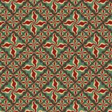 Decorative seamless pattern Stock Photos
