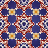 Decorative  seamless pattern in ottoman motif Royalty Free Stock Photo