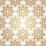 Decorative  seamless pattern in ottoman motif Stock Photos