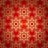 Decorative  seamless pattern in ottoman motif Stock Image