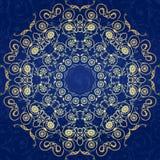 Decorative  seamless pattern in ottoman motif Stock Image