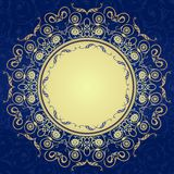 Decorative  seamless pattern in ottoman motif Royalty Free Stock Photography