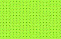 Tulips Pattern Green Background vector illustration