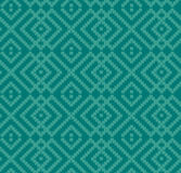 Decorative seamless turquoise texture Stock Image