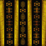 Decorative seamless wallpaper Royalty Free Stock Photography