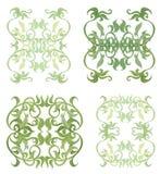 Decorative set V Royalty Free Stock Image