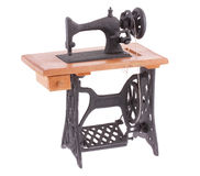 The decorative sewing machine Stock Photos