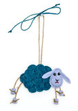 Decorative sheep Royalty Free Stock Photos