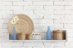 Free Decorative Shelf Royalty Free Stock Photography - 34366697