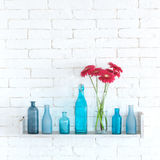 Decorative shelf stock photography