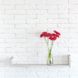 Decorative shelf stock photo