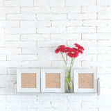 Decorative shelf Royalty Free Stock Images