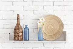 Decorative shelf Stock Image