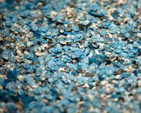 Decorative shell texture, blue fractions Royalty Free Stock Photos