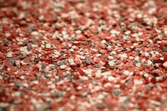 Decorative shell texture, pink and black fractions Stock Image