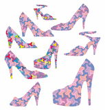 Decorative shoes Royalty Free Stock Image